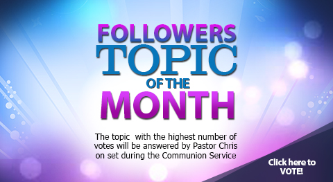 Followers Topic of the Month